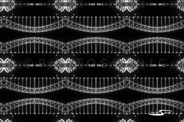 Kaleidoscope Black and White Photos