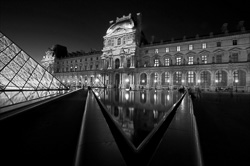 France Black and White Photos