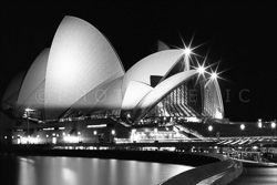 Sydney Black and White Photos